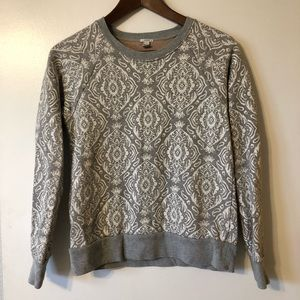 Jcrew super cute paisley sweatshirt - size XS.